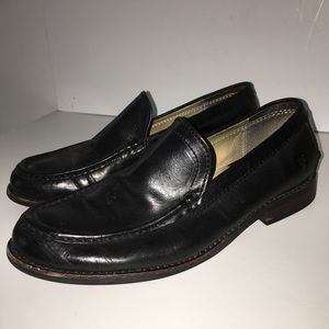 Frye Black Leather Loafers Size 11.5